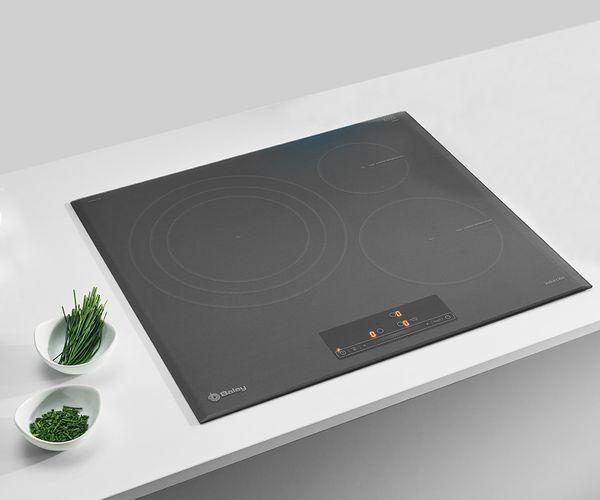 Promoci n cocinas balay serie cristal cocimaya muebles - Cocinas de induccion balay ...